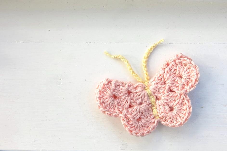 Free Crochet Pattern For Butterfly Motif : September 2013 bear loves dove