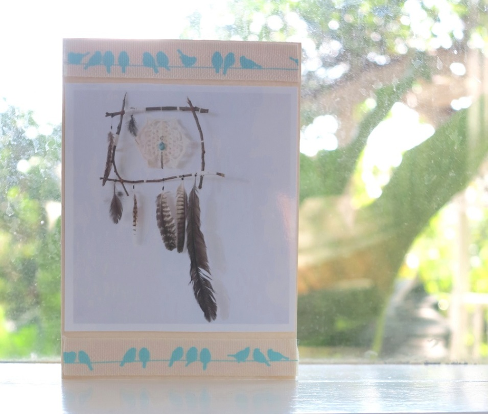 peace catcher card