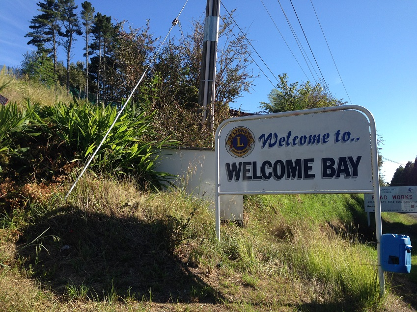 welcome bay
