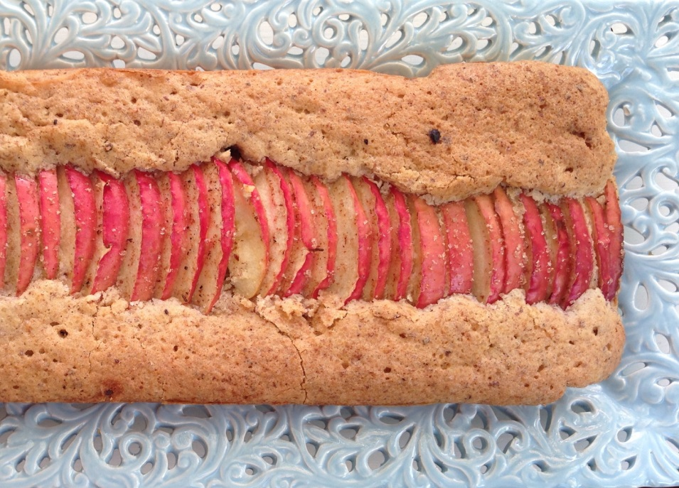 flourless apple ripple cake 7