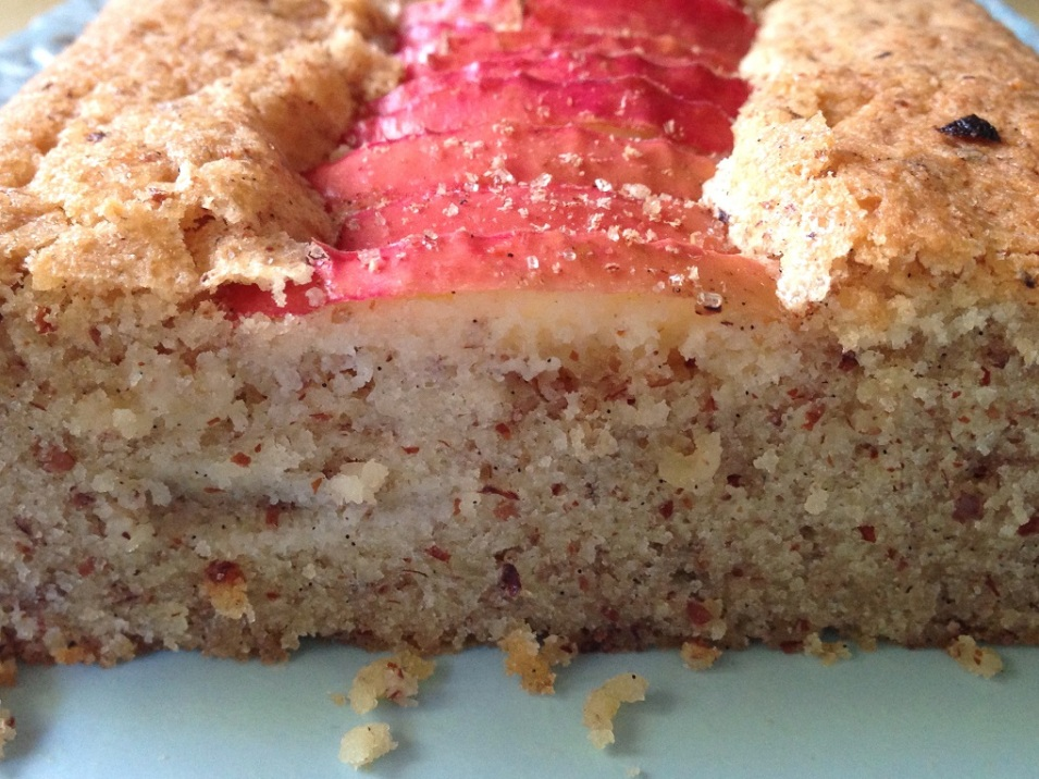 flourless apple ripple cake 8