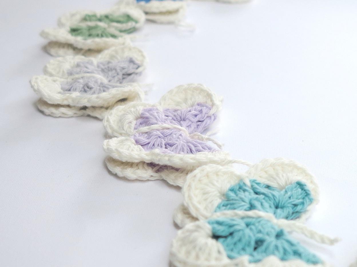 make a pantone butterfly garland | bear loves dove