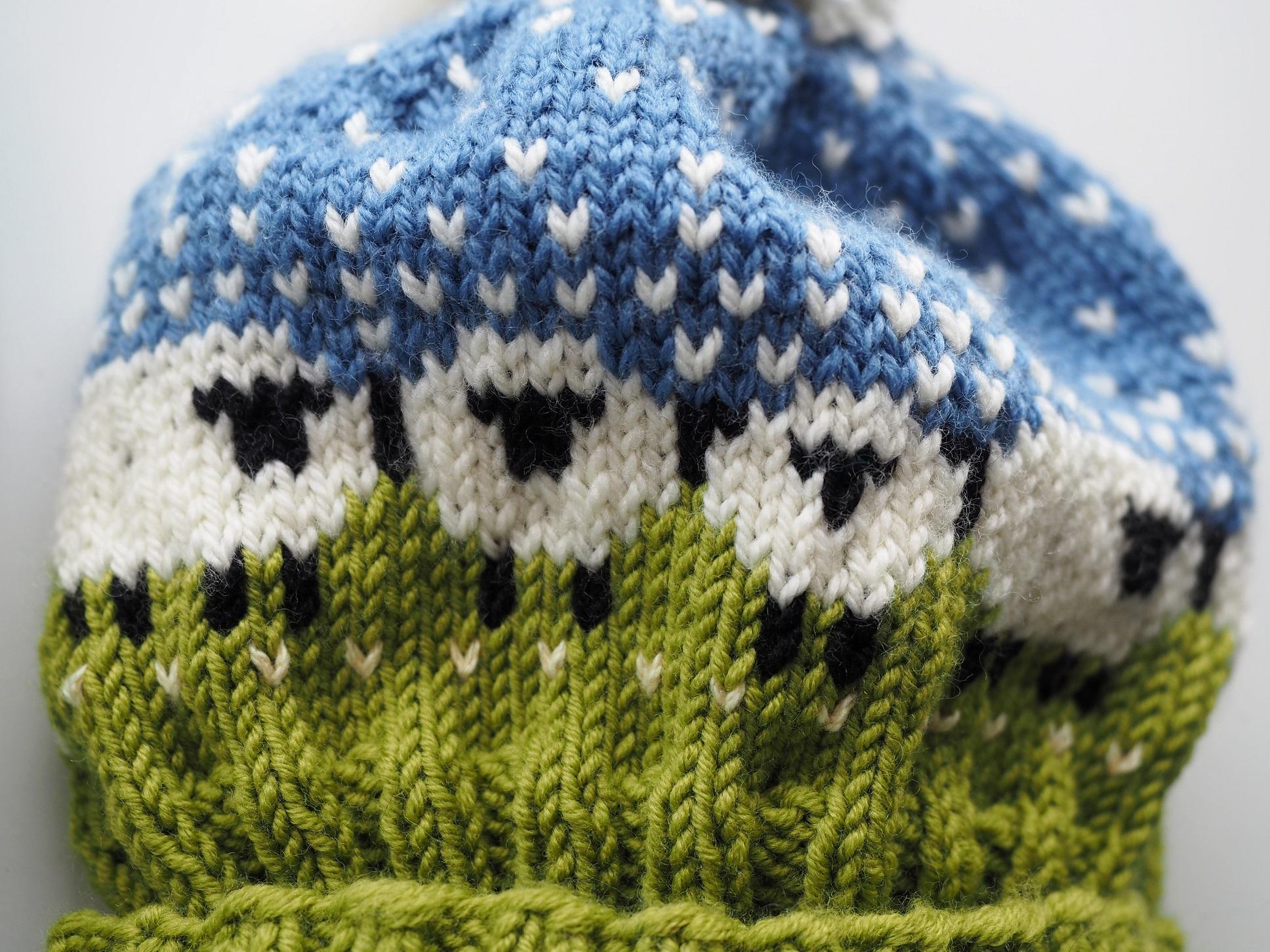 knitting sheep | bear loves dove